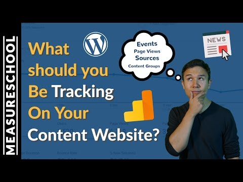 Content Analytics: How to use Google Analytics for tracking Content Websites