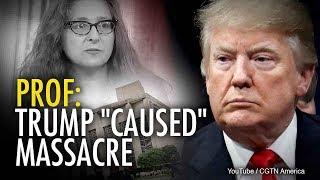 Georgetown Prof: Trump 'Caused' Synagogue Massacre | Rob Shimshock