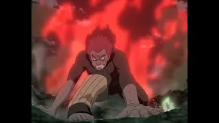 Might Gay 8 gates transformation fighting Madara to death