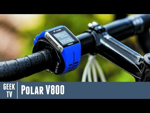 Pré tests la montre GPS Polar V800 !