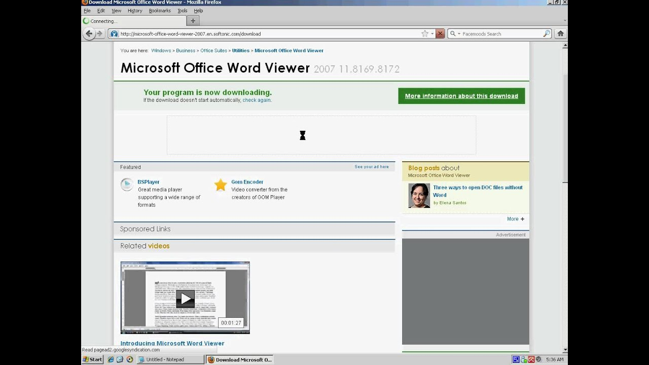 microsoft office 2007 software free download for pc