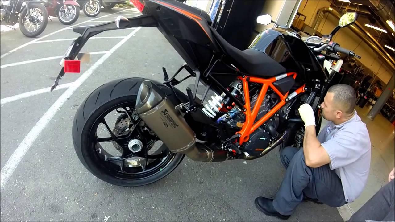 Akrapovic Ktm Duke Titanium Full Exhaust System