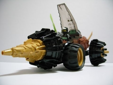 Lego Ninjago(닌자고) 70502 Cole's Earth Driller Build Review