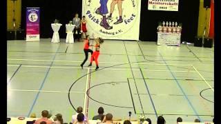 Antonia Schmid & Julian Minks - Landesmeisterschaft Bayern 2015