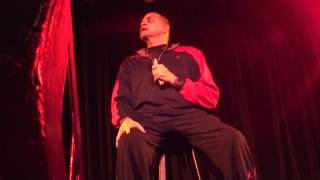 Sinbad live FULL SHOW - South Orange County, CA  (front row)