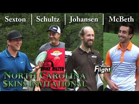 North Carolina Skins Invitational 2015 Spike Hyzer NC Disc Golf Skins Match