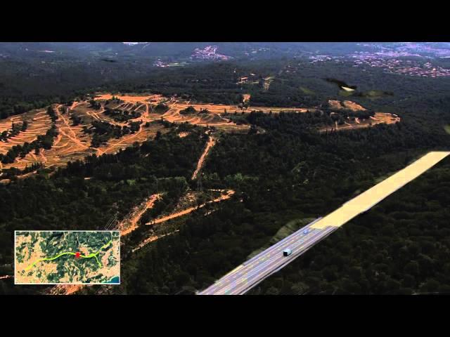 La futura carretera C-32 entre Blanes i Lloret de Mar