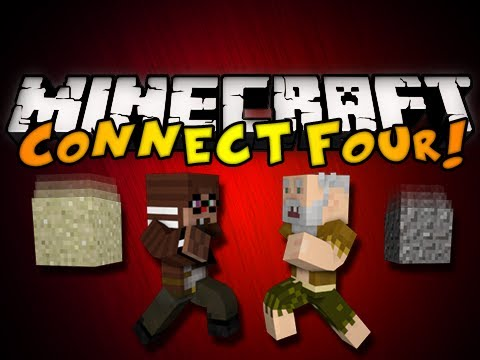 Minecraft Mini-Game: Connect Four w/ Chim & Generikb! (HD)