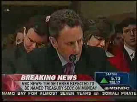 Barack Obama Change More of the Same Tim Geithner  END THE FED