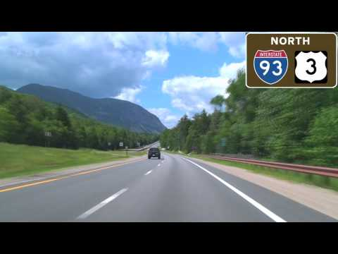 I-93 North Through Franconia Notch, NH