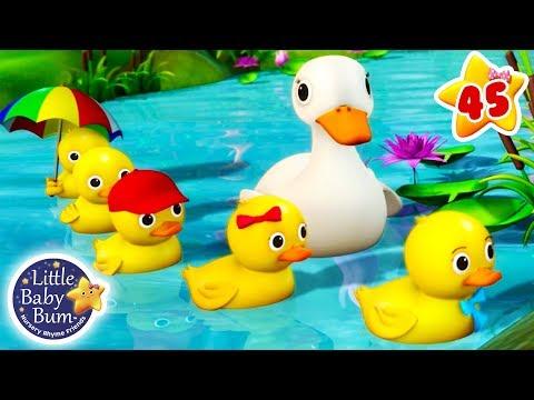 Five Little Ducks   + More Nursery Rhymes & Kids Songs   Songs for Children   Little Baby Bum