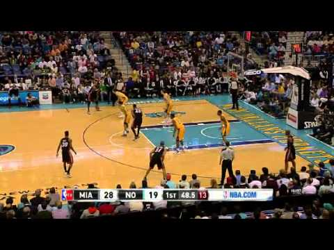 Miami Heat vs New Orleans Hornets Highlights