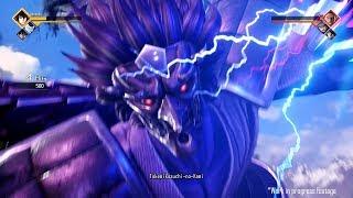JUMP FORCE - Rinnegan Sasuke vs Roronoa Zoro Gameplay | E3 2018 (1080p 60fps)