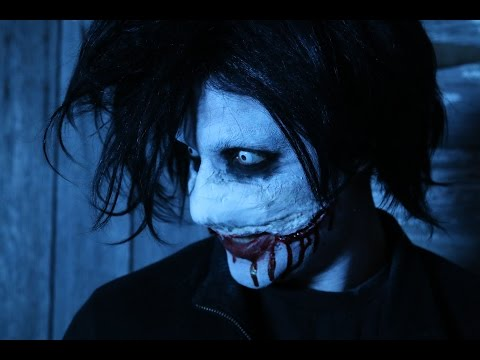 DIY Jeff The Killer Halloween Makeup Tutorial