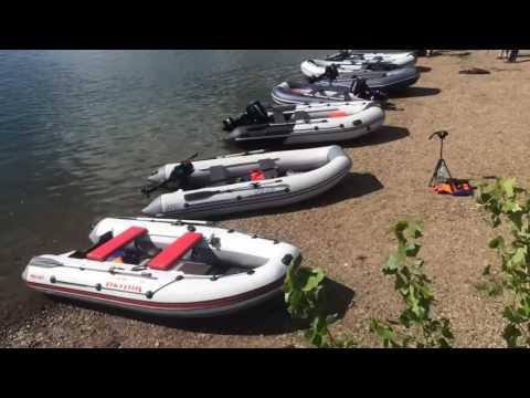 сборка лодки альтаир 360
