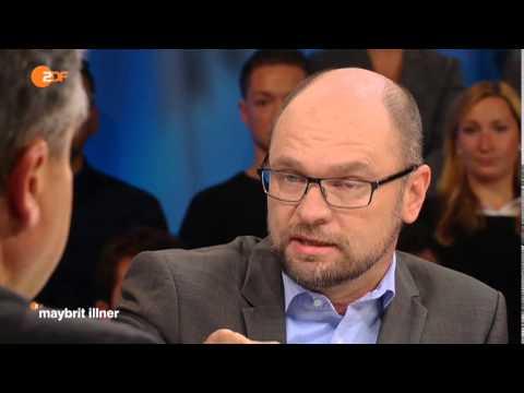 Sigmar Gabriel und Richard Sulik streiten sich bei Maybrit Illner