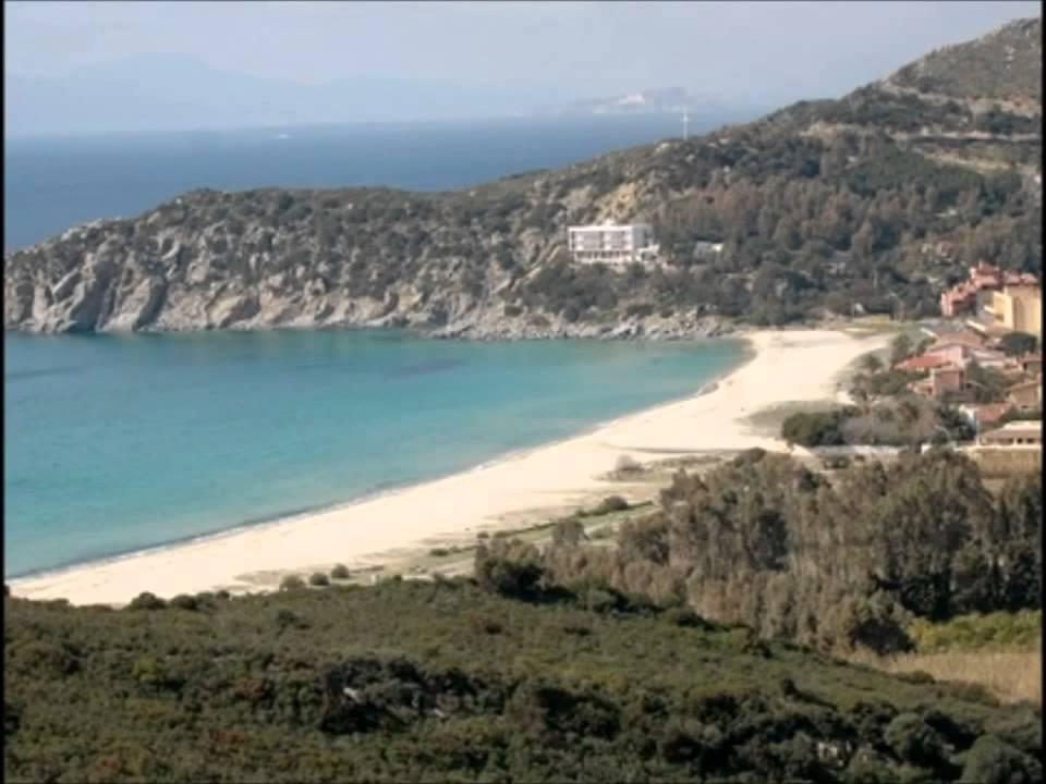 Solanas Beach Sardinia Solanas ca Sardinia Italy
