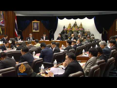 Thai government sticking to election date