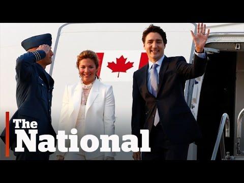 Prime Minister Trudeau arrives in Japan