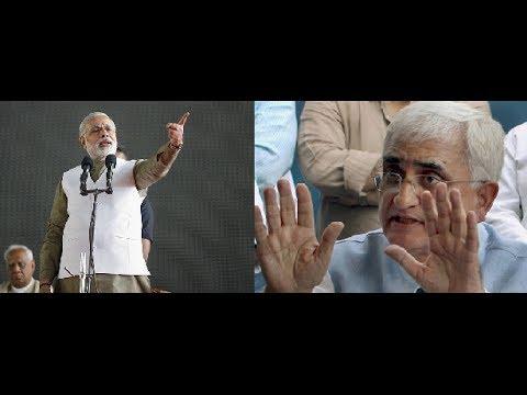 Narendra Modi Trolls Salman Khursheed !! :-)