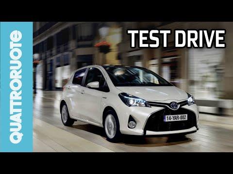 Toyota Yaris Hybrid 2014 Test Drive - Prova su strada Quattroruote