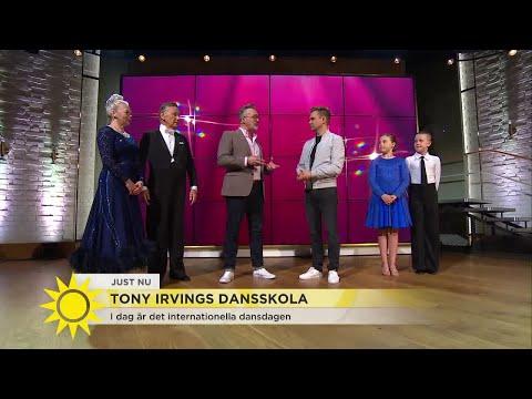 """Tony Irvings dansskola: """"Dansen handlar om att det ska vara roligt"""" - Nyhetsmorgon (TV4)"""