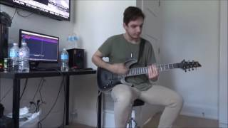The Amity Affliction | Nightmare | GUITAR COVER FULL (NEW SONG 2016) HD