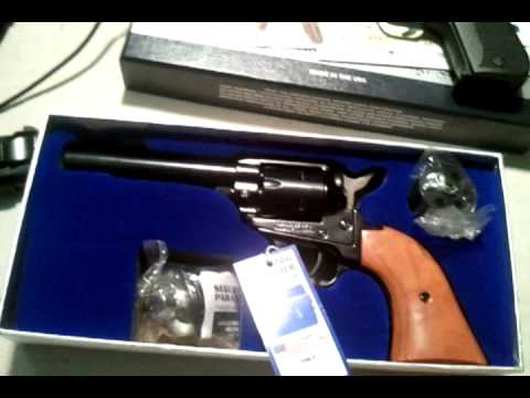 heritage rough rider 22 lr unboxing