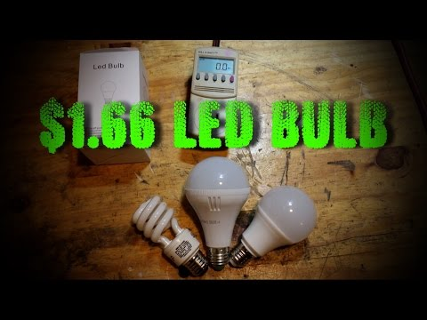 BEST LED Light Bulb For The HOME Only $1.66
