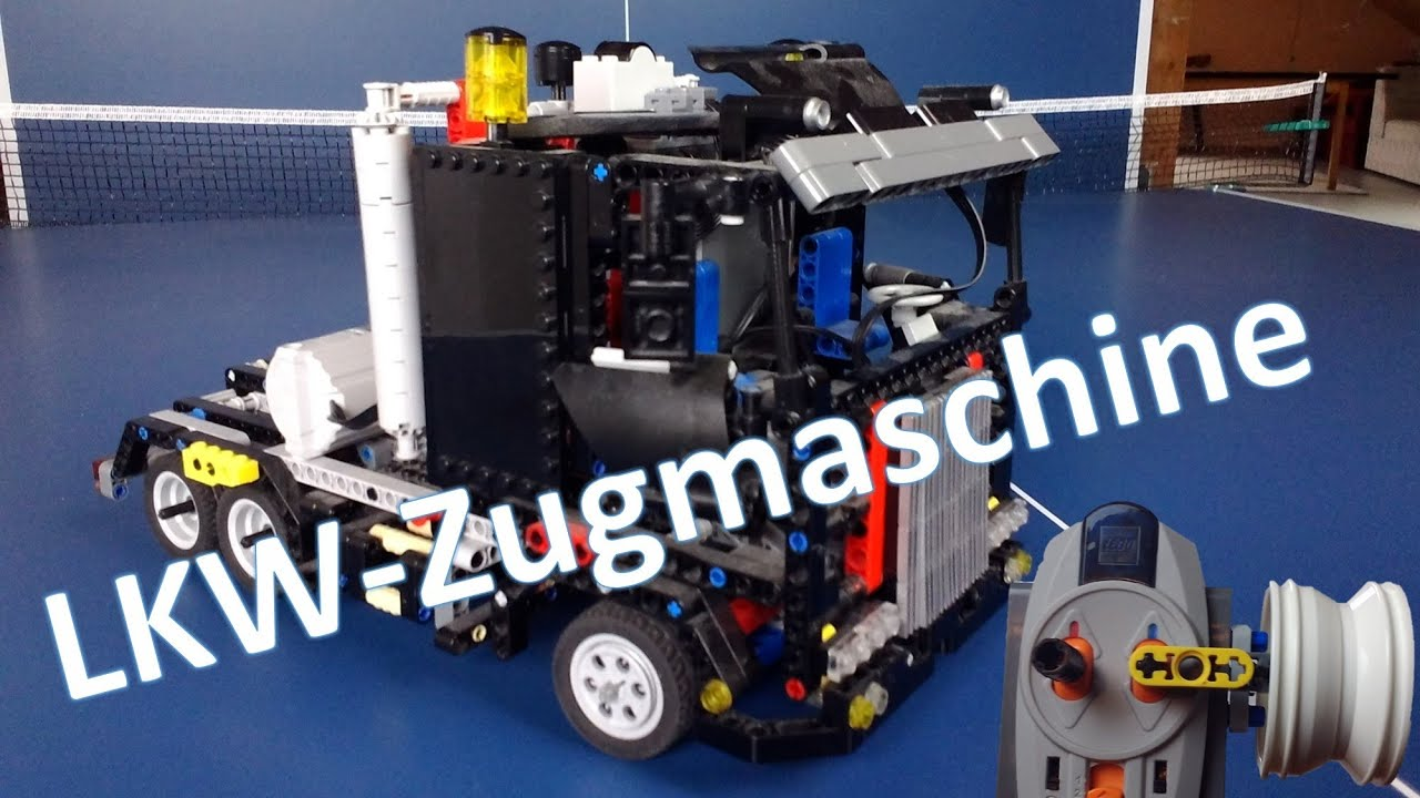 lego technik ferngesteuerte lkw zugmaschine youtube. Black Bedroom Furniture Sets. Home Design Ideas