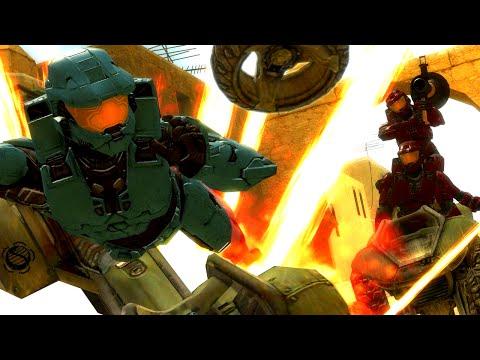 The Rocket Race (Halo 3 Custom Match - The Derp Crew)