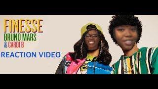 Download Lagu Cardi B & Bruno Mars Finesse Reaction Video Gratis STAFABAND