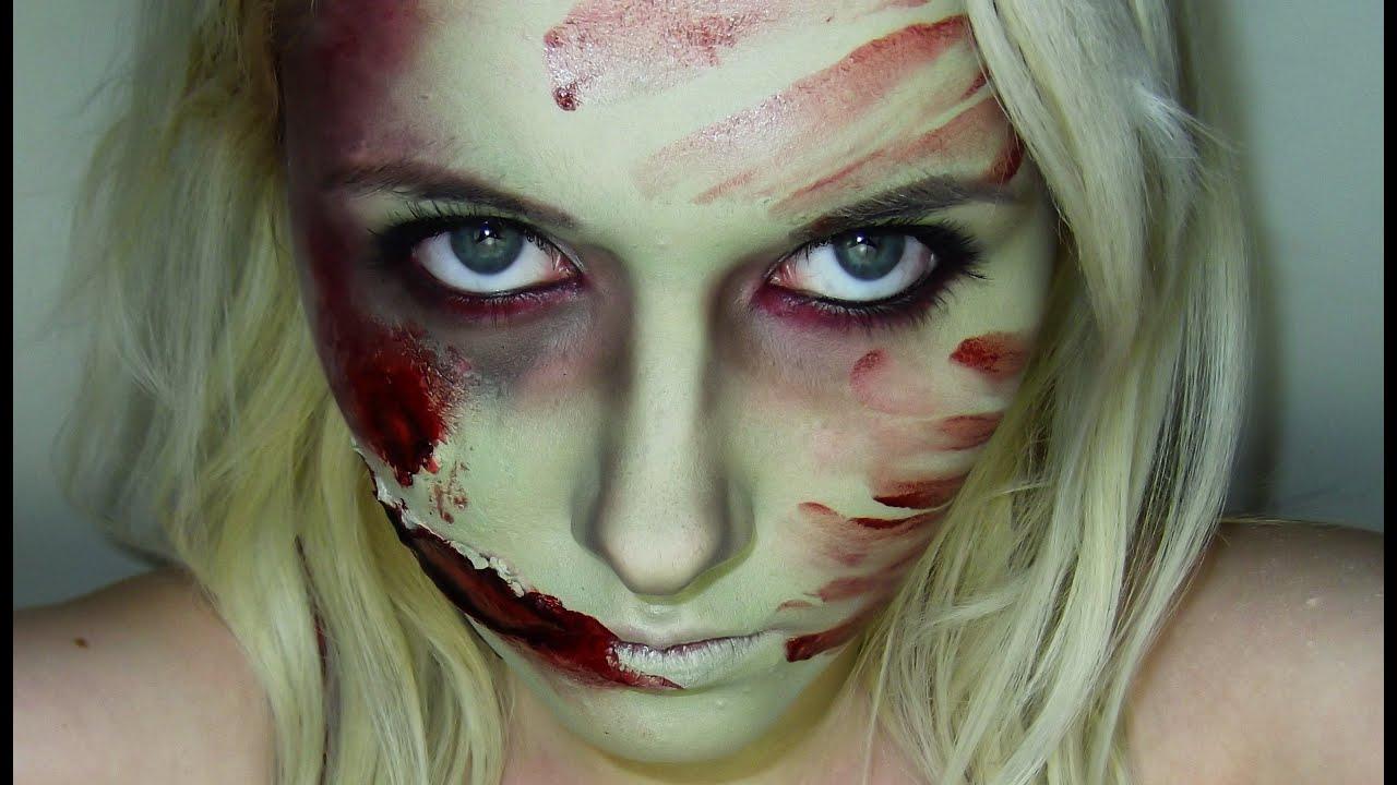 halloween tutorials zombie princess youtube. Black Bedroom Furniture Sets. Home Design Ideas