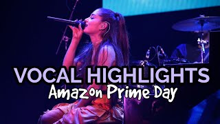 Download Lagu Ariana Grande - 'Amazon Prime Day' VOCAL HIGHLIGHTS Gratis STAFABAND
