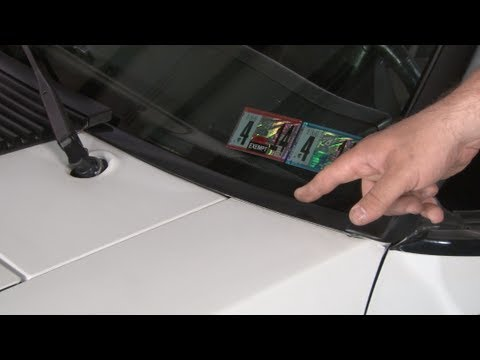 Mustang Ford Tooling Lower Windshield Trim Installation ...