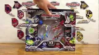 Wave 3 Monsuno Toy Opening - Surge 4 Pack Core-Tech vs. Eklipse