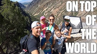 TAKING FOUR KIDS HIKING A MILE AND A HALF UP A MOUNTAIN AND INTO A DARK CAVE