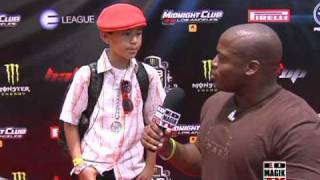 Lil' Maxso at THE DUB SHOW TOUR 09 Red Carpet