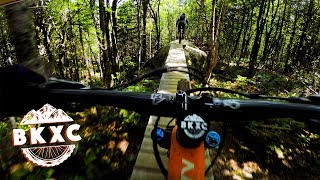 E47 almost got the best of me | Mountain Biking Lac Delage near Quebec City