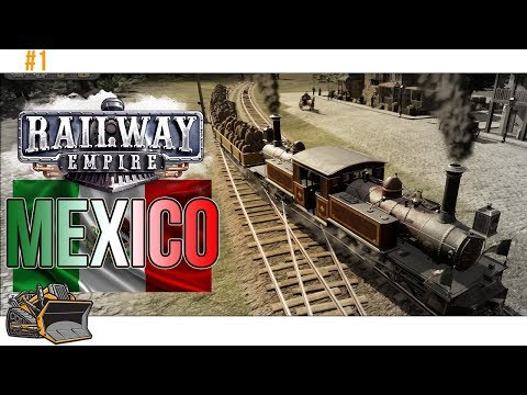 Railway Empire Mexico gameplay | Mexico scenario part 1 | colonel failure
