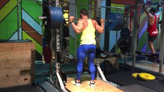 Back Squat - Heavy single drops