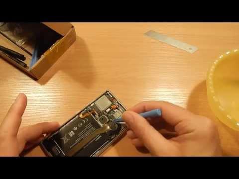 Lumia 1520 замена стекла своими руками 10