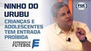 INTERDIÇÃO NO NINHO DO URUBU: Autoridades bloqueiam acesso de menores ao CT do Flamengo