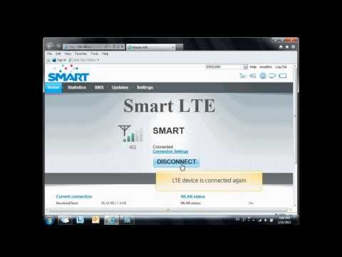 Smart Bro LTE Modem: How to Connect Manually to the Internet