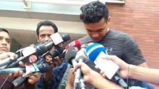 কাঁদলেন...কাঁদালেন তাসকিন! দল থেকে বাদ পরে নির্বাক স্পিড স্টার। Taskin Ahmed