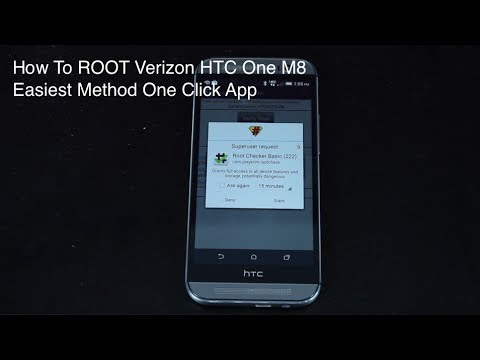 Verizon HTC One M8 and M7 How To ROOT [EASIEST METHOD]
