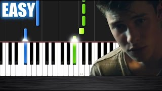 Download Lagu Shawn Mendes - Treat You Better - EASY Piano Tutorial by PlutaX Gratis STAFABAND