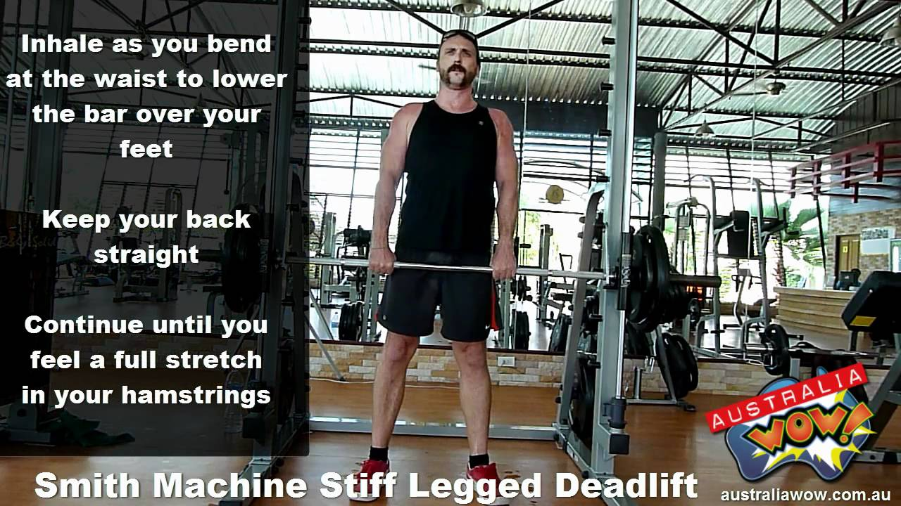 smith machine deadlift