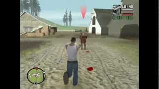 KRATOS FROM GOD OF WAR IN GTA SAN ANDREAS MOD CLEO 4