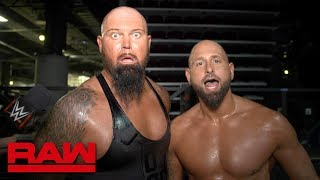 Luke Gallows & Karl Anderson sum up The Miztourage in one word: Raw Exclusive, March 26, 2018